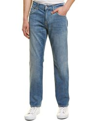 7 For All Mankind 7 For All Mankind Tapered Blue Straight Leg Jean