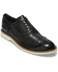 Cole Haan Morris Leather Oxford - Black