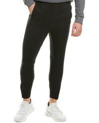 adidas City Studio Fleece Pant - Black