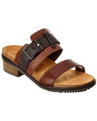 Naot - Flower Leather Sandal - Lyst