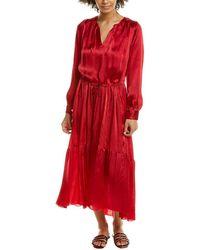 Forte Forte - Moire Blouson Dress - Lyst