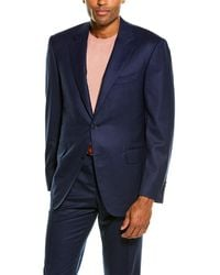 Canali 2pc Wool Suit - Blue