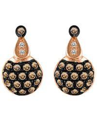Le Vian ? Grand Sample Sale 14k Strawberry Gold? 0.31 Ct. Tw. Diamond Earrings - Metallic