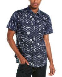 Robert Graham Jinxy Woven Shirt - Blue