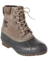 Sorel Cheyanne Ii Suede Boots - Grey