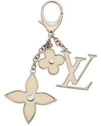Louis Vuitton Fleur D'epi Bag Charm - Metallic