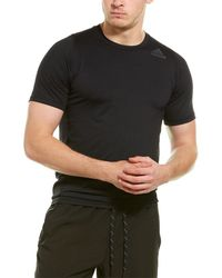 adidas Alphaskin Sport Fitted Short Sleeve Tee - Black