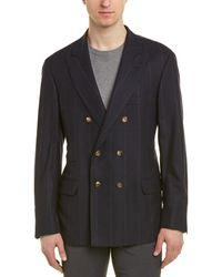 Brunello Cucinelli Wool-blend Blazer - Multicolour