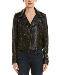 Lamarque Leather Jacket - Black