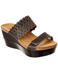 Naot - Rise Leather Sandal - Lyst