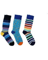 Unsimply Stitched - Pack Of 3 Socks - Lyst