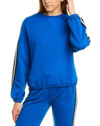 ATM Anthony Thomas Melillo Dropped-shoulder Pullover - Blue