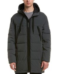 Marc New York Down Puffer Coat - Gray