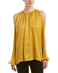 Noa Elle Harley Top - Yellow