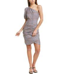 Parker One-shoulder Mini Dress - Pink