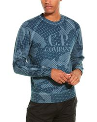 C.P. Company C. P. Company Logo Sweatshirt - Blue