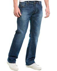 DIESEL Larkee Medium Wash Straight Leg - Blue