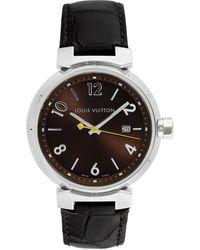 Louis Vuitton Men's Tambour Watch, Circa 2000s - Metallic