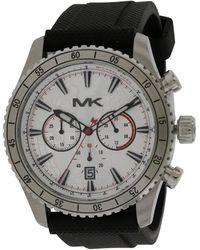 Michael Kors Men's Rubber Watch - Multicolour
