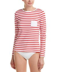 Spanx - ® Stripe Sun Shirt - Lyst