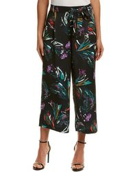 Catherine Malandrino - Printed Cropped Pants - Lyst