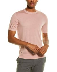 Theory Basic Regal Wool T-shirt - Pink