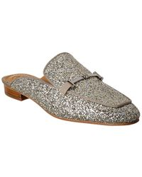 Tory Burch Amelia Backless Loafer - Metallic