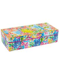 Lilly Pulitzer Lacquer Box - Blue