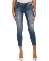 Kut From The Kloth - Connie Galvanized Ankle Skinny Leg - Lyst