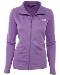 The North Face Momentum Full Zip Top - Purple