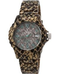 Toy Watch Unisex Imprint Only Time Watch - Multicolor
