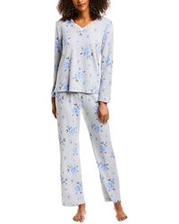 Carole Hochman 2pc Pyjama Set - Gray
