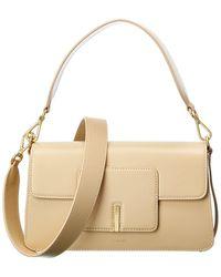 Wandler Georgia Leather Shoulder Bag - Natural