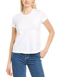James Perse Vintage Little Boy T-shirt - White