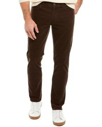 Brooks Brothers Stretch Corduroy Brown Slim Fit Pant