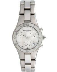Baume & Mercier Baume & Mercier Women's Linea Casual Style Watch, Circa 2000s - Metallic