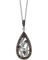 Le Vian ? Grand Sample Sale 14k Vanilla Gold? 0.90 Ct. Tw. Diamond Pendant - Metallic