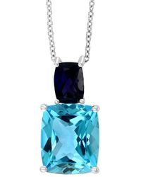 Effy - 14k 6.90 Ct. Tw. Gemstone Pendant Necklace - Lyst