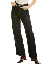 Levi's High Loose Dark Wide Leg Jean - Multicolour