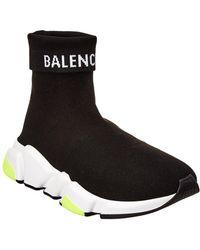 Balenciaga - Speed Stretch-knit Trainers - Lyst