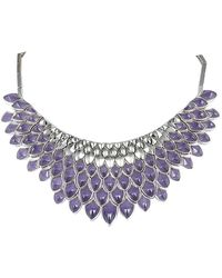 Stephen Webster Silver 111.00 Ct. Tw. Cat's Eye Necklace - Multicolour