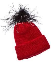 Eugenia Kim Maddox Hat - Red