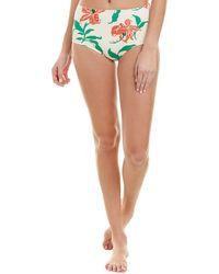 Morgan Lane Sadie Bikini Bottom - White