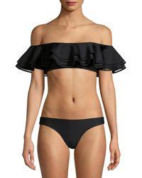 Mouillé Swimwear Charlotte 2pc Bikini Set - Black