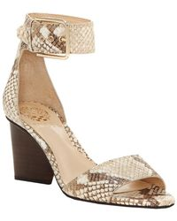 Vince Camuto - Driton Leather Sandal - Lyst