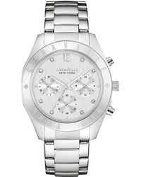 Caravelle NY Caravelle New York Stainless Steel Watch - Metallic