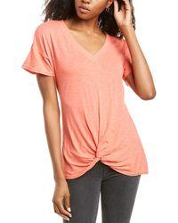XCVI Charity T-shirt - Pink