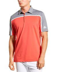 adidas Originals Ultimate 365 3 Stripe Polo Shirt - Multicolour