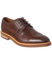 Gordon Rush - Wingtip Leather Derby Shoe - Lyst