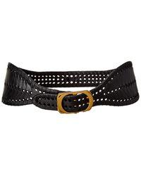 Dior Leather Belt - Black